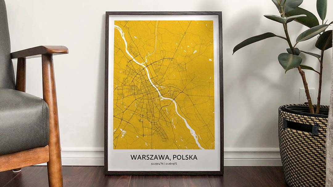 custom city map prints