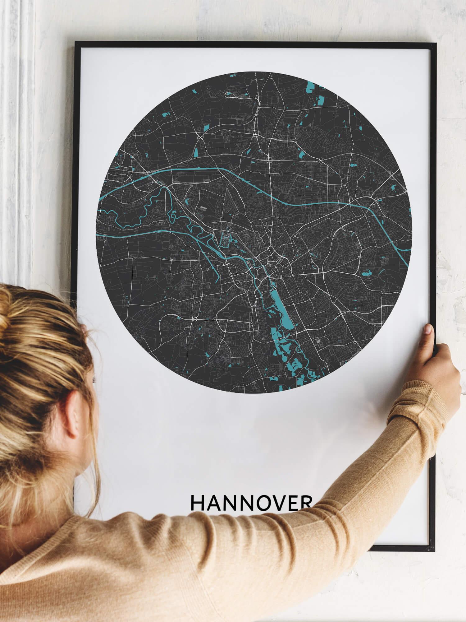 STADTKARTE HANNOVER