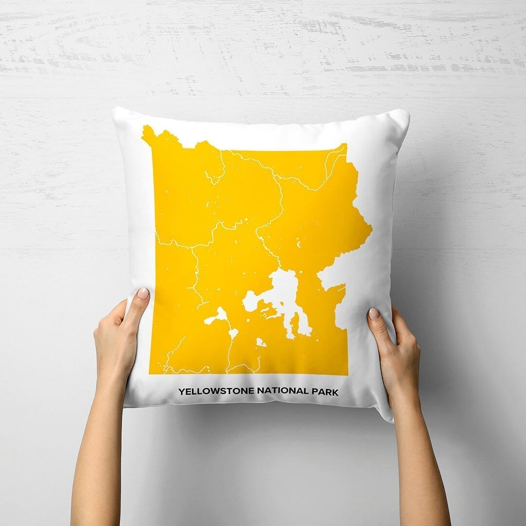 Yellowstone National Park Personalized Pillow