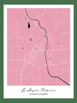 Positive Prints - Custom Map Gift