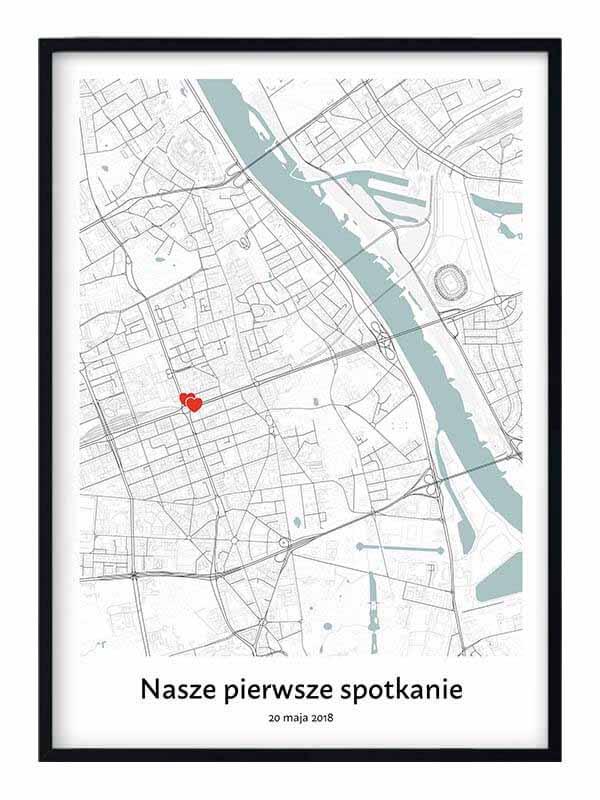 mapa nasze pierwsze spotkanie