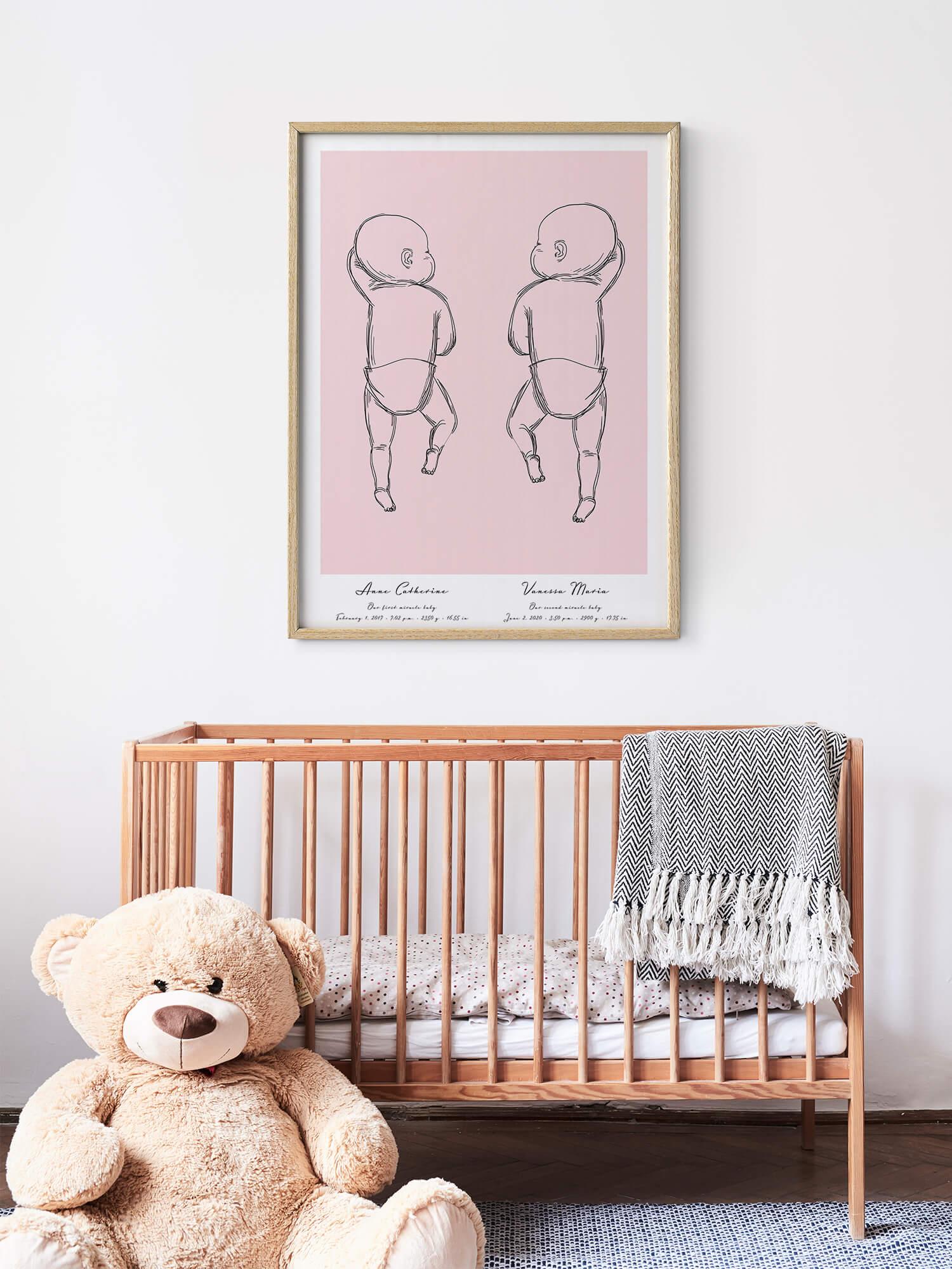 Affiche_Naissance_Personnalisée_Poster_Bébé_Chambre_Enfant_positiveprints