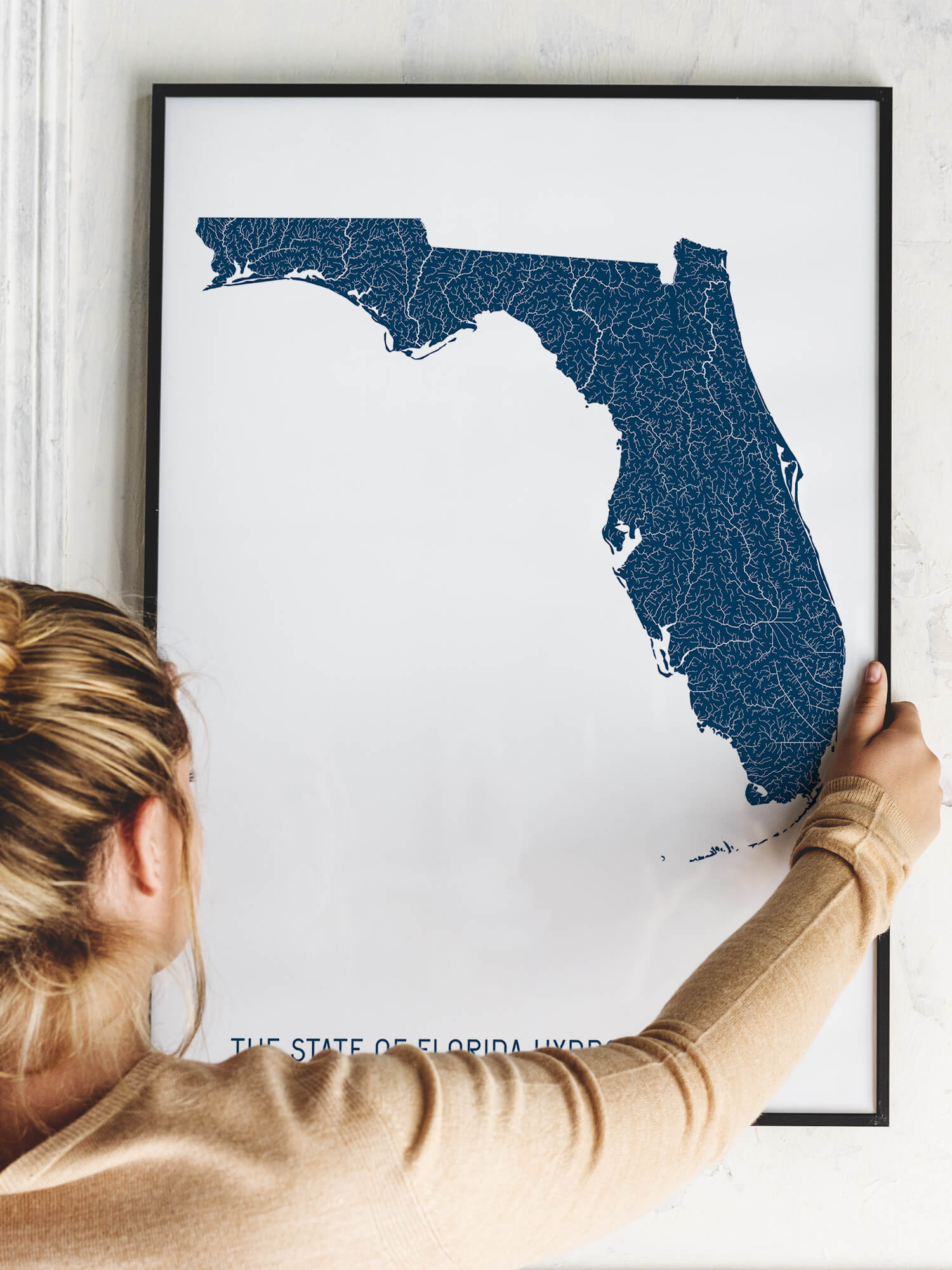Florida ríos _póster_positive prints