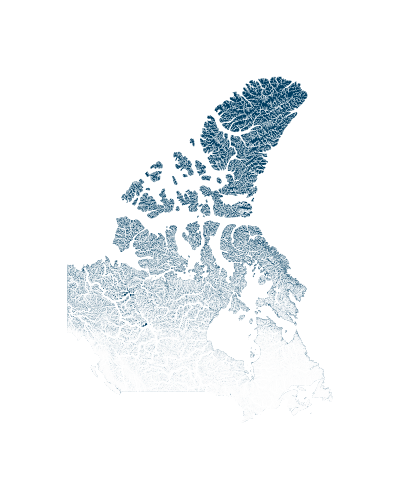 canada_rivers_watersheds_positive prints