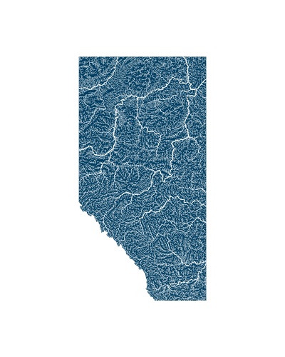 alberta_rivers_watersheds_positive prints