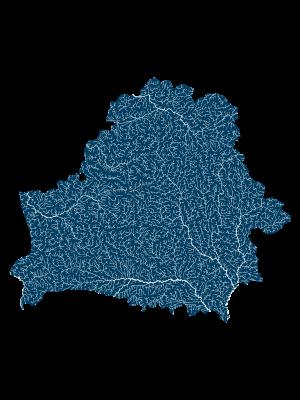belarus_rivers_watersheds_