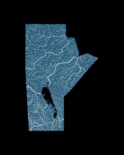 manitoba_rivers_watersheds_positive prints