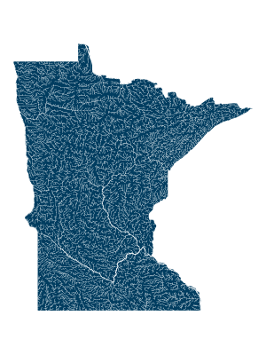 Minnesota rivers poster_positive prints