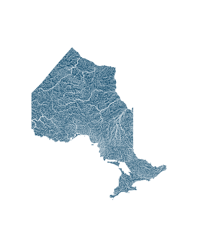 ontario_rivers_watersheds_positive prints
