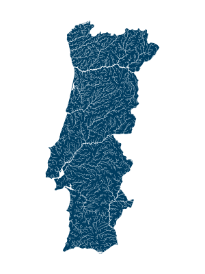 portugal_rivers_watersheds_positive_prints