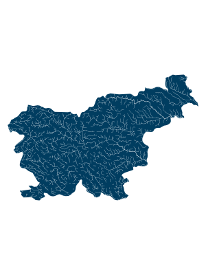 slovenia_rivers_watersheds_positive_prints