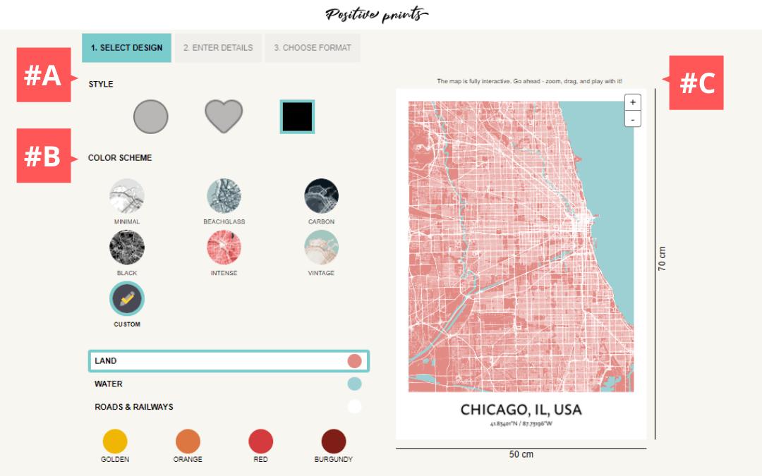 Come creare la tua arte mappa personalizzata