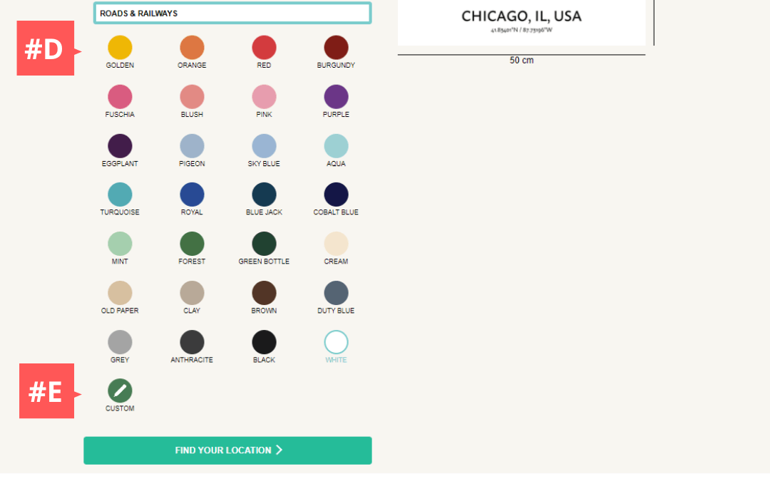Choosing color of your wall art