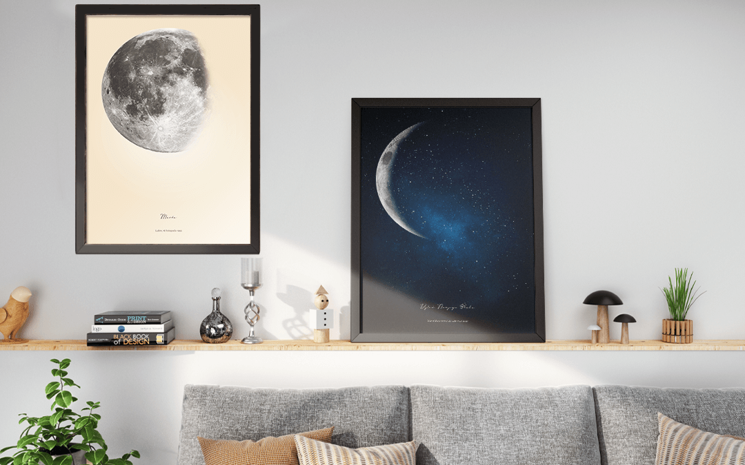Moon Gifts Ideas - Amazing Moon Phase by date Poster