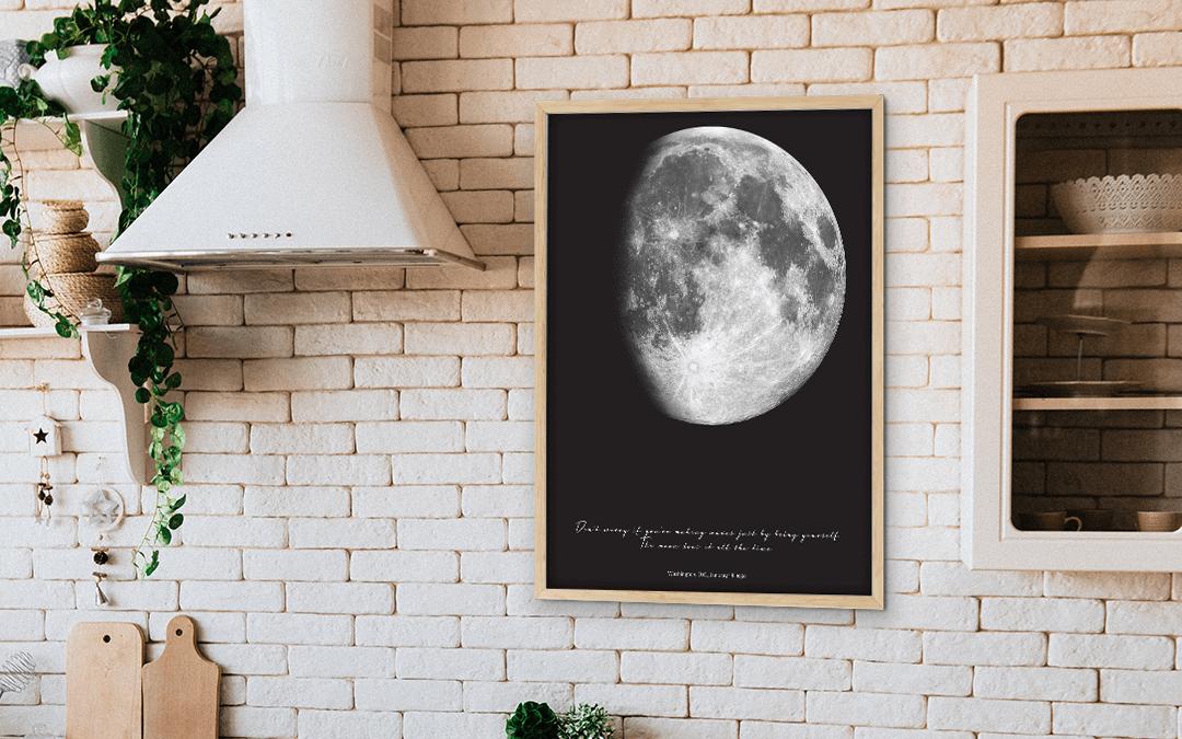 Bei dem Licht eines zunehmenden Monds geboren: Was bedeutet das?