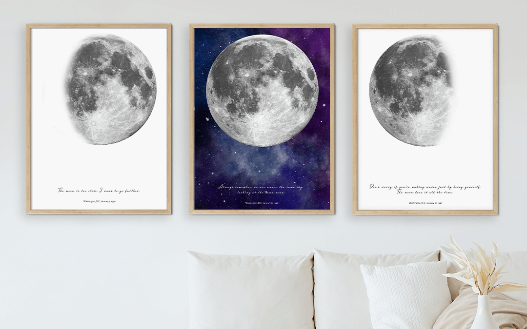 Born on a Full Moon Poster