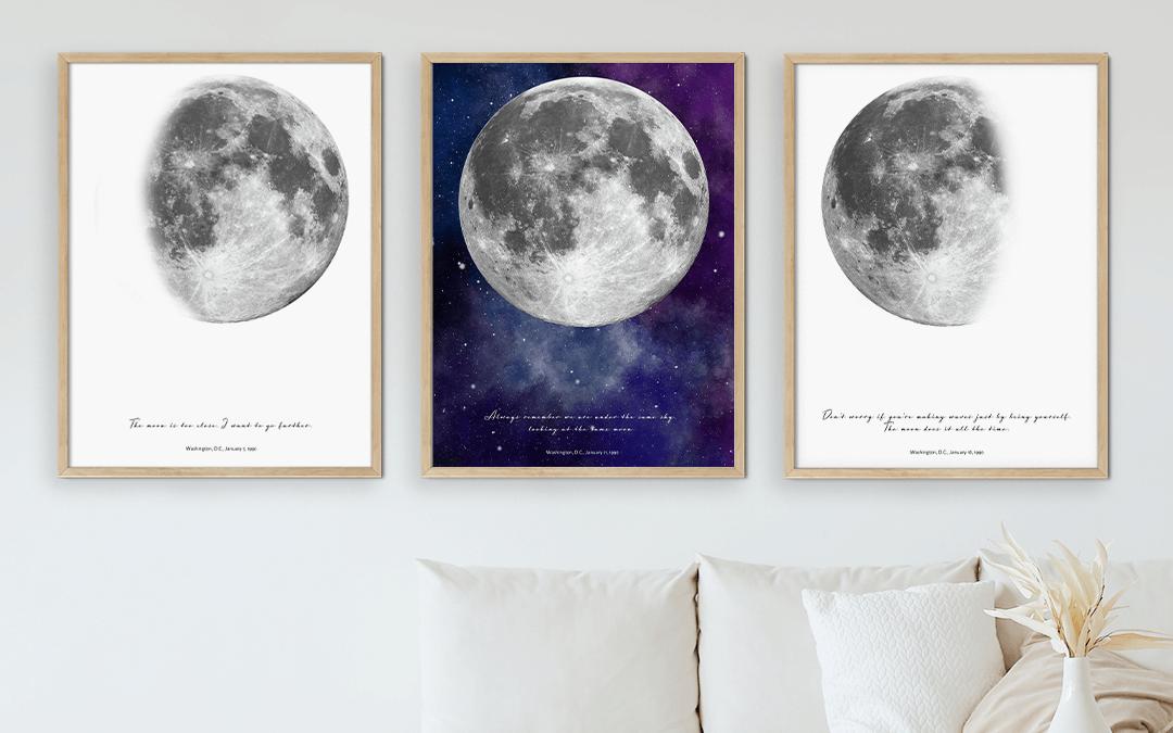 Born on a Full Moon Art Poster