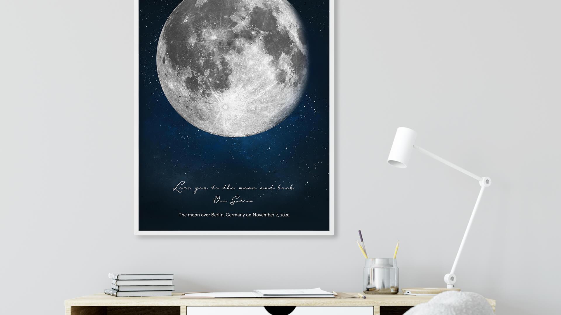 Nacer en luna llena, ¿qué significa?