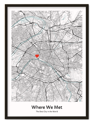 Custom City Map Poster