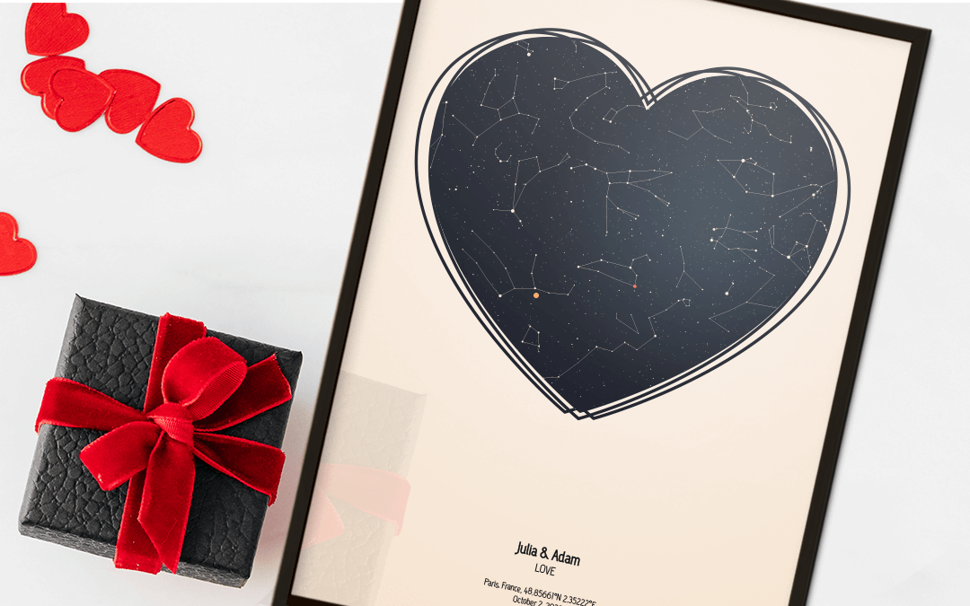 Valentine's Star Map