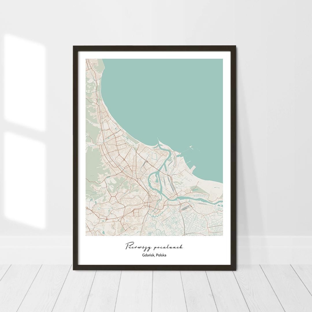 personalizowana mapa miasta