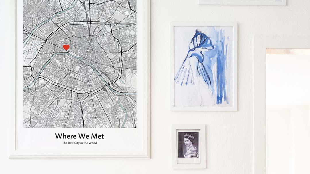 map of where we met