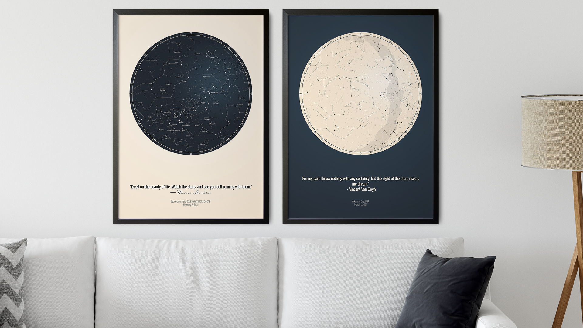Star chart gift