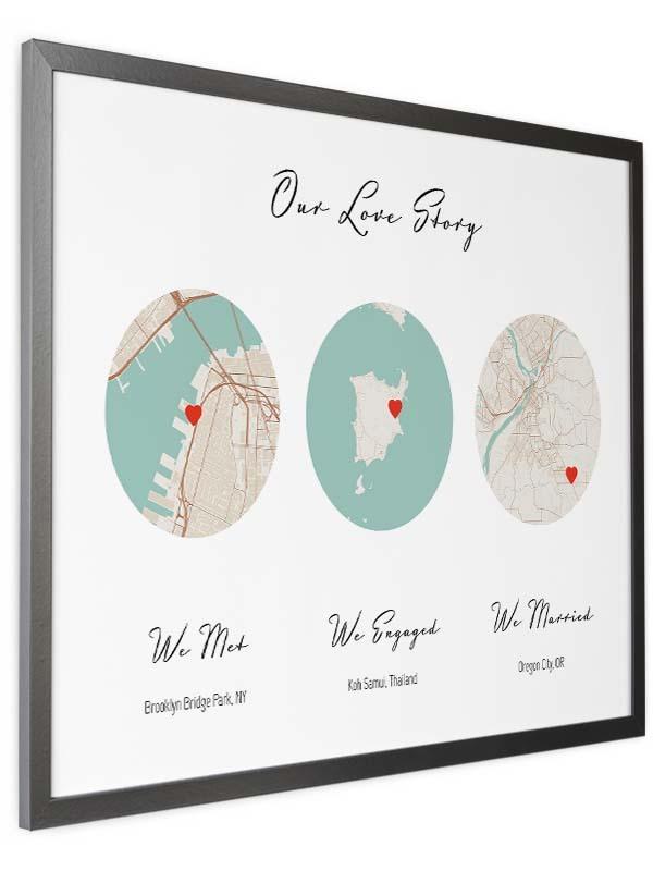 met engaged married map