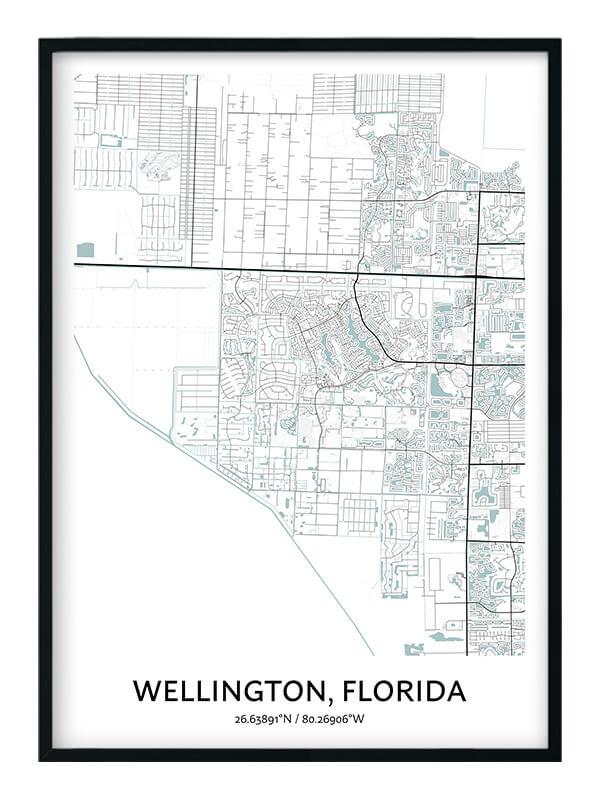 Wellington Florida poster