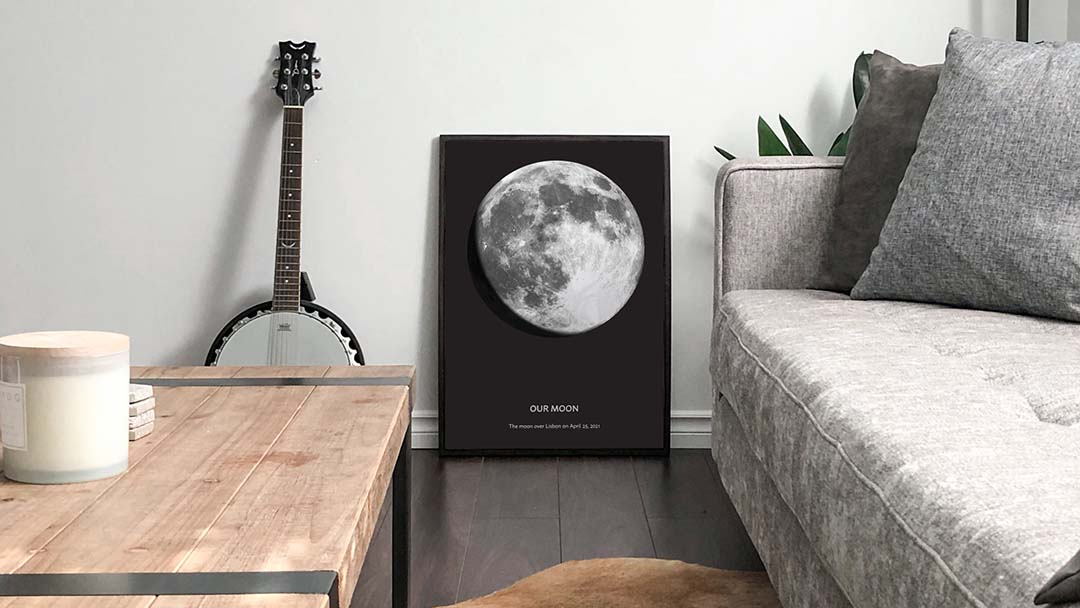 moon poster date