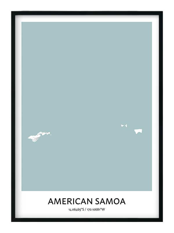 American Samoa poster
