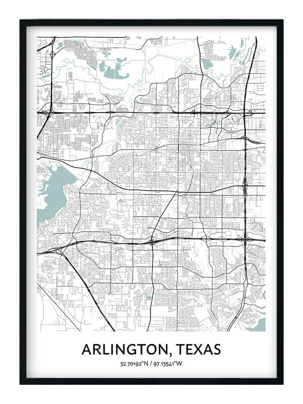 Arlington Texas poster