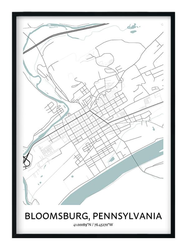 Bloomsburg poster