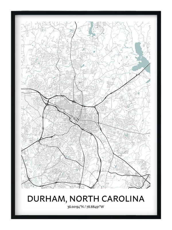 Durham North Carolina poster