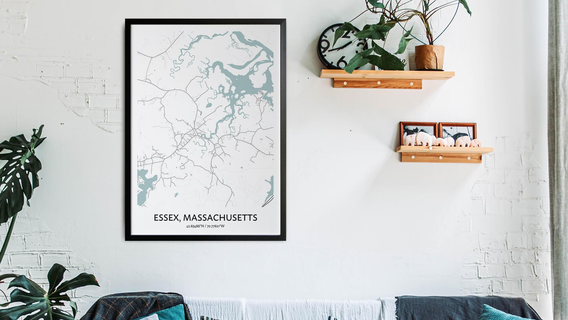 Essex map art