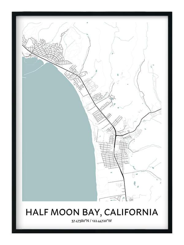 Half Moon Bay poster
