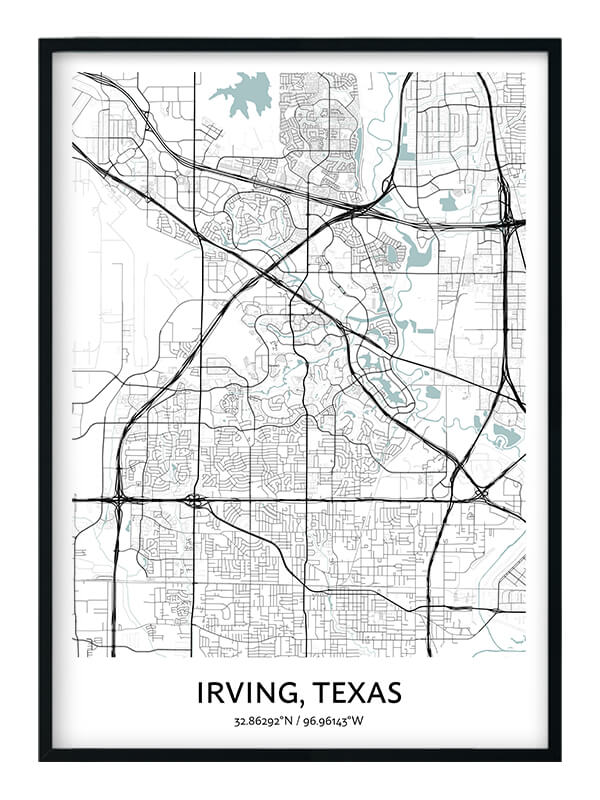 Irving poster
