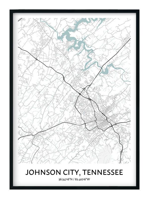 Johnson City poster