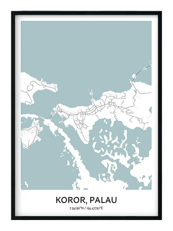 Koror poster
