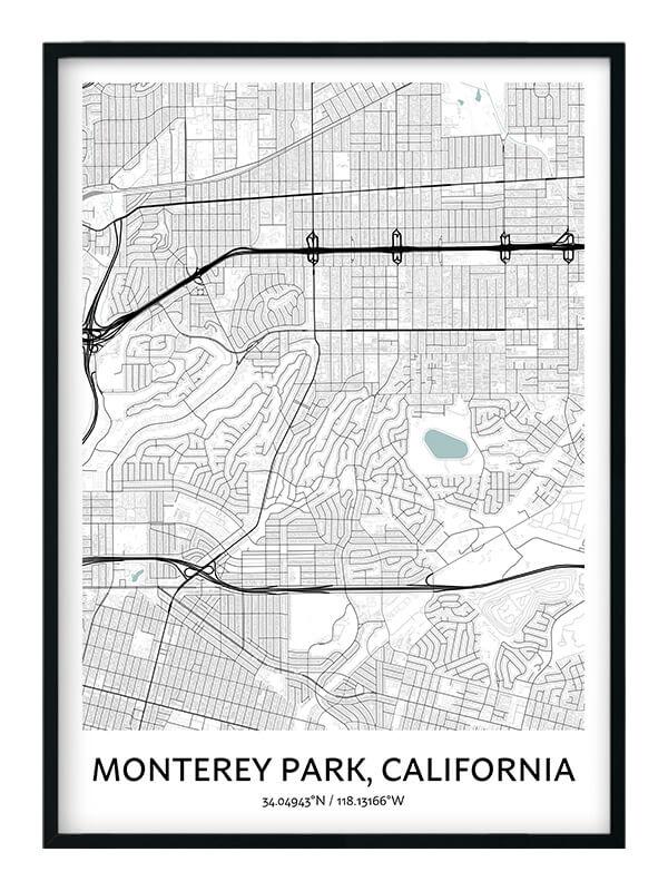 Monterey Park poster