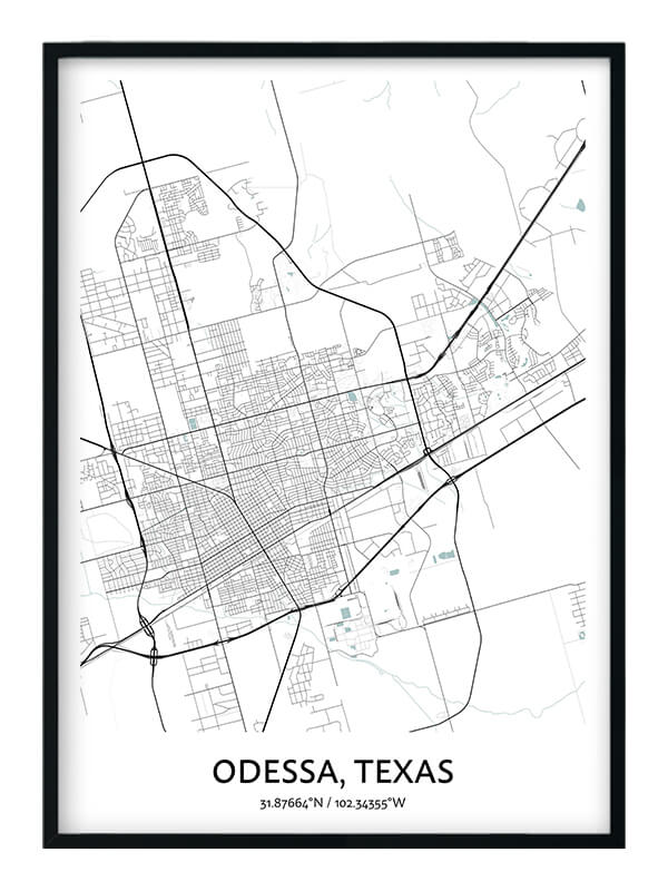 Odessa Texas poster