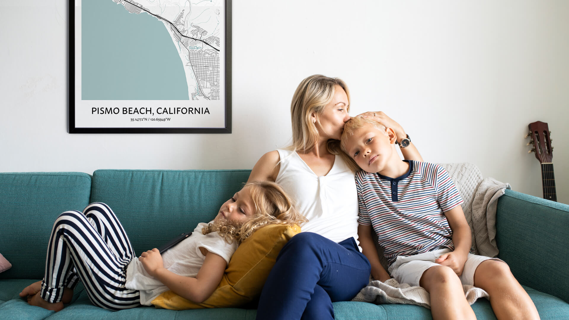 Pismo Beach map poster