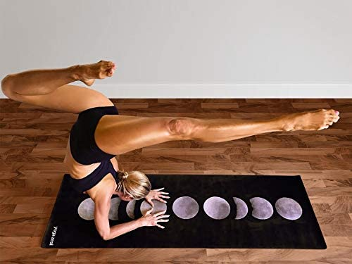 Moon Phases Yoga Mat - Moon Gift for Yoga Lovers