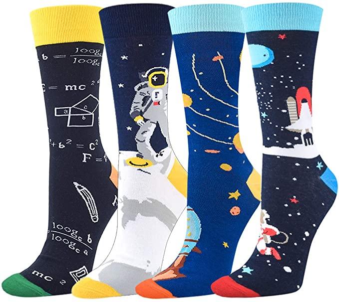 Astronomy gift idea for men - Outer Space Socks