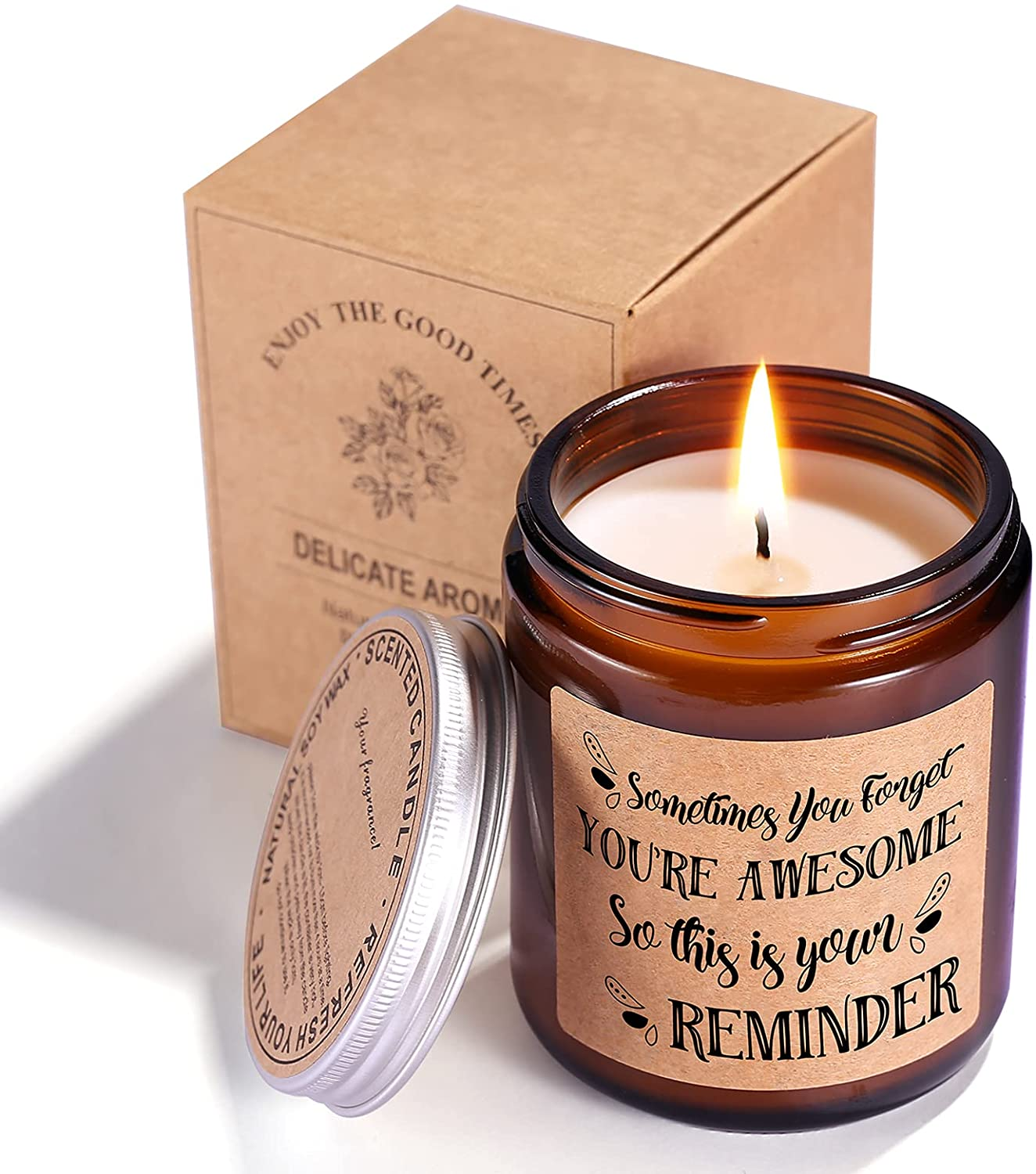 Candle - Relaxing Friendship Anniversary Gift