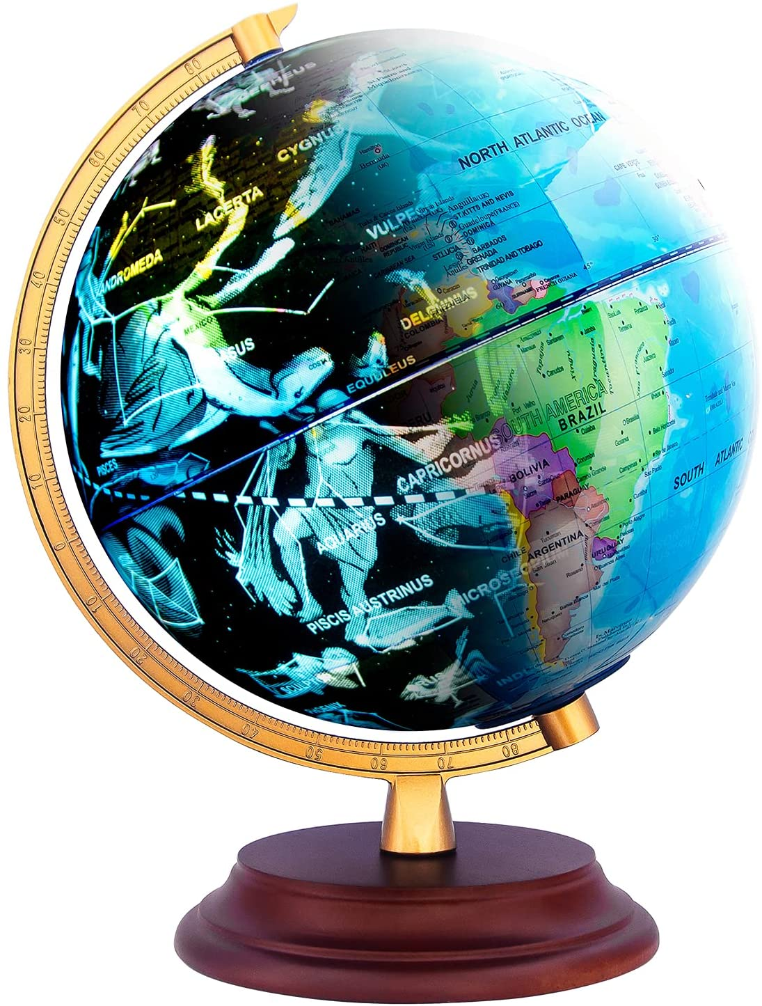 astronomy gift for kids - World Globe with Stars Constellation