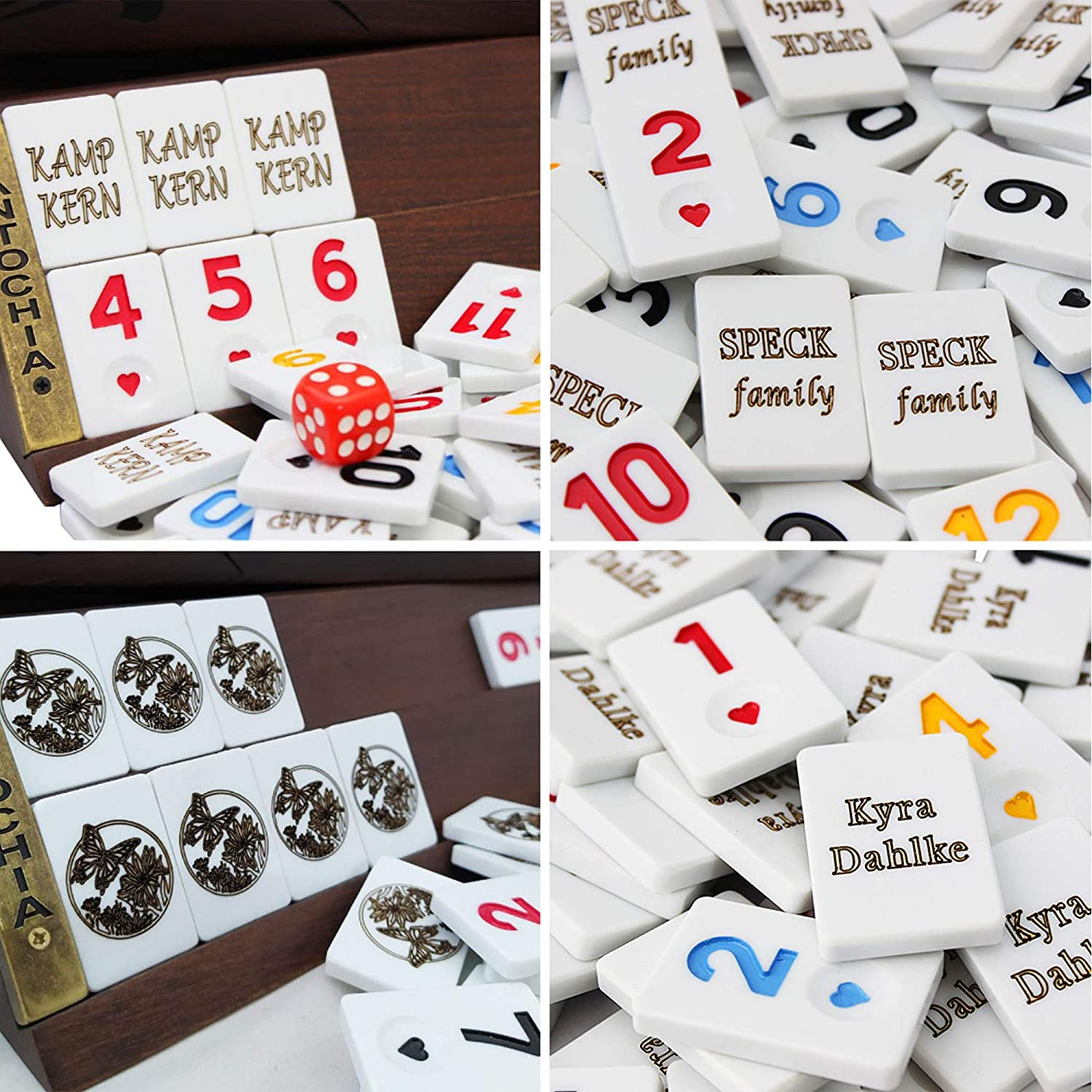 Personalized Rummy Tiles