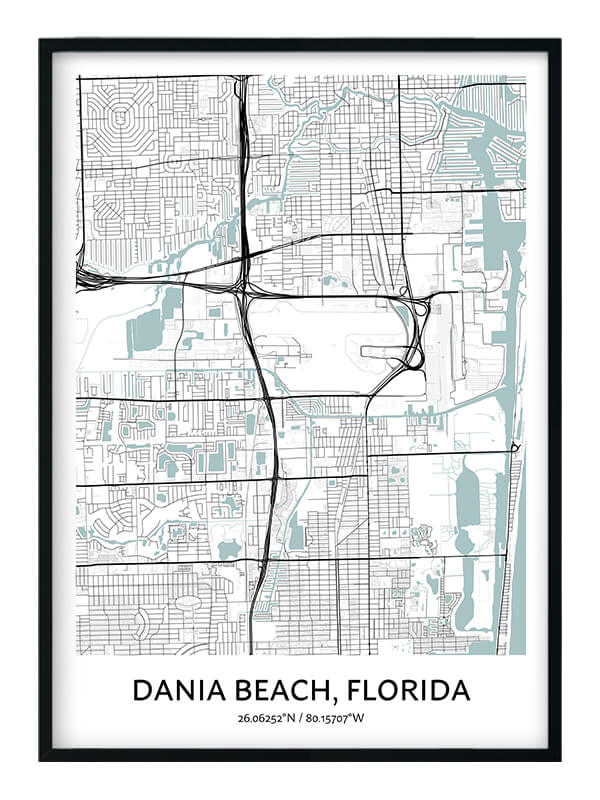 Dania Beach poster