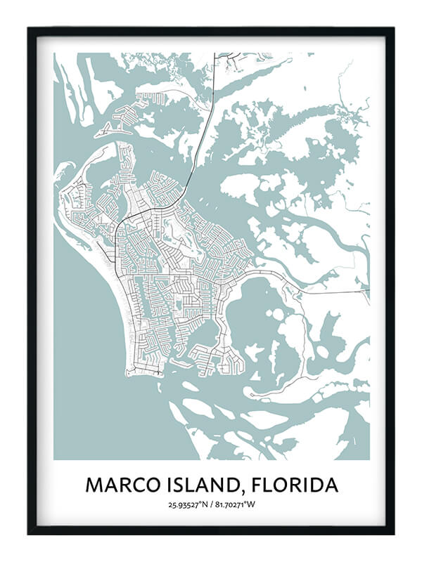 Marco Island poster
