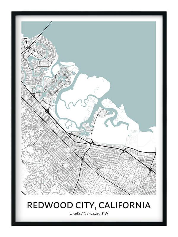 Redwood City poster